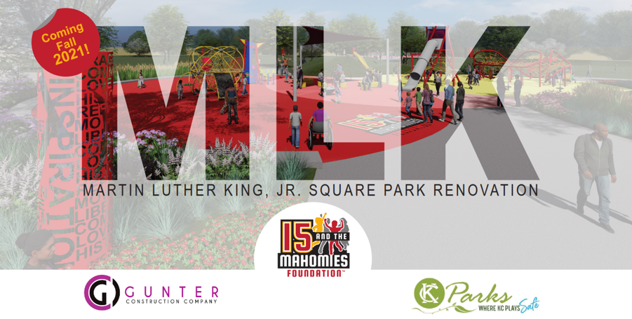 KC Parks Board Awards Million Dollar Contract to Diverse Project Team for the Design-Build of Historic Playsite at MLK Park