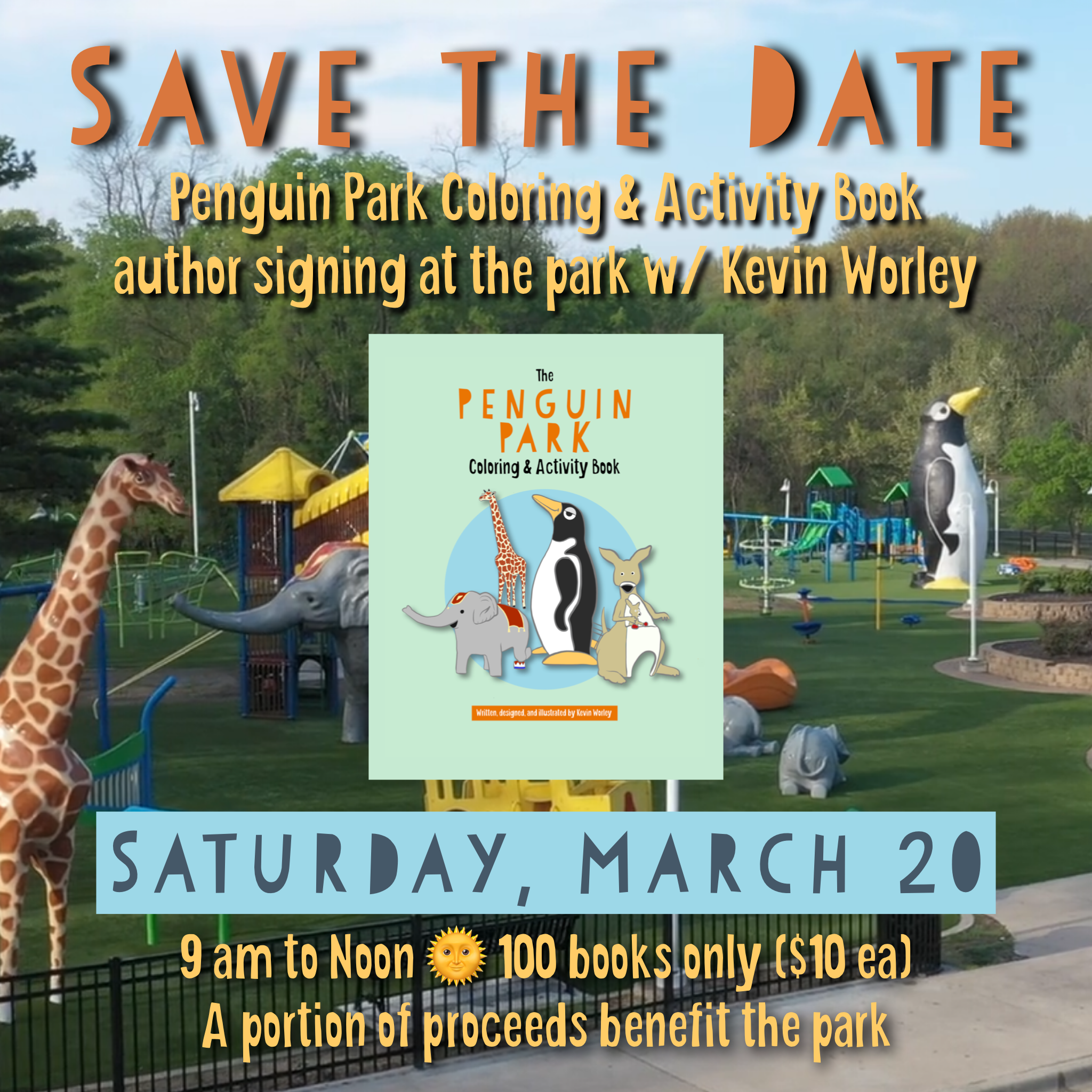 Penguin Park Book Signing March 20
