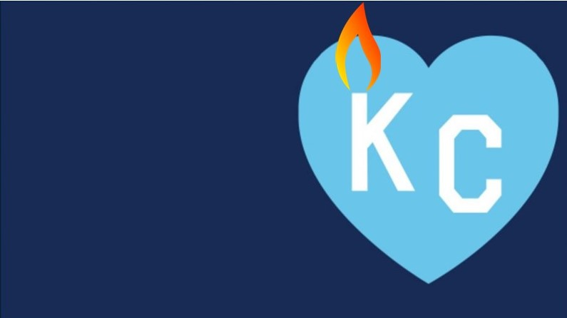 KC Heart with a Flame