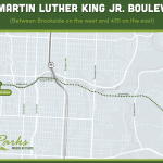 Dr. Martin Luther King Jr. Boulevard Map