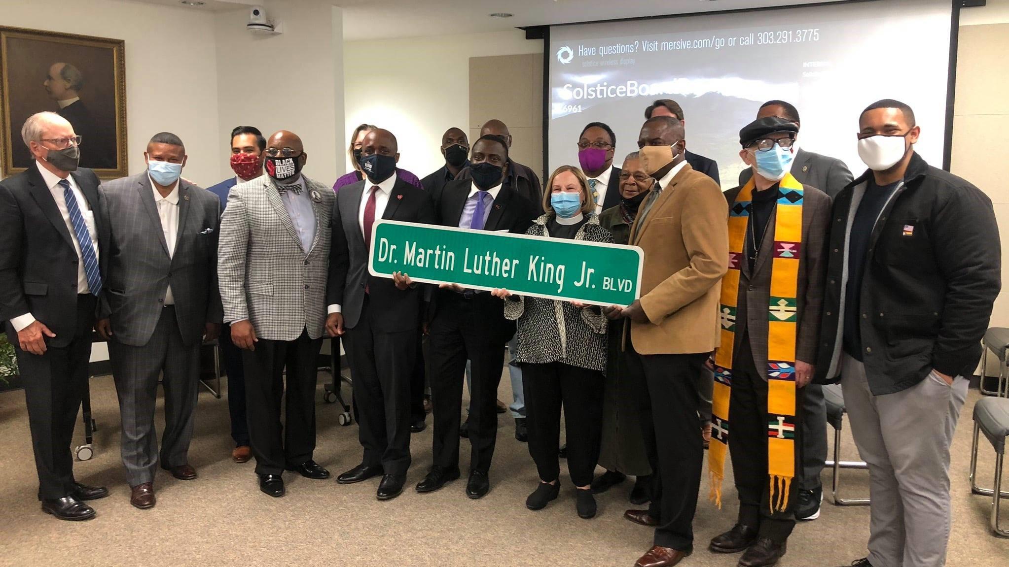 Martin Luther King Jr BLVD