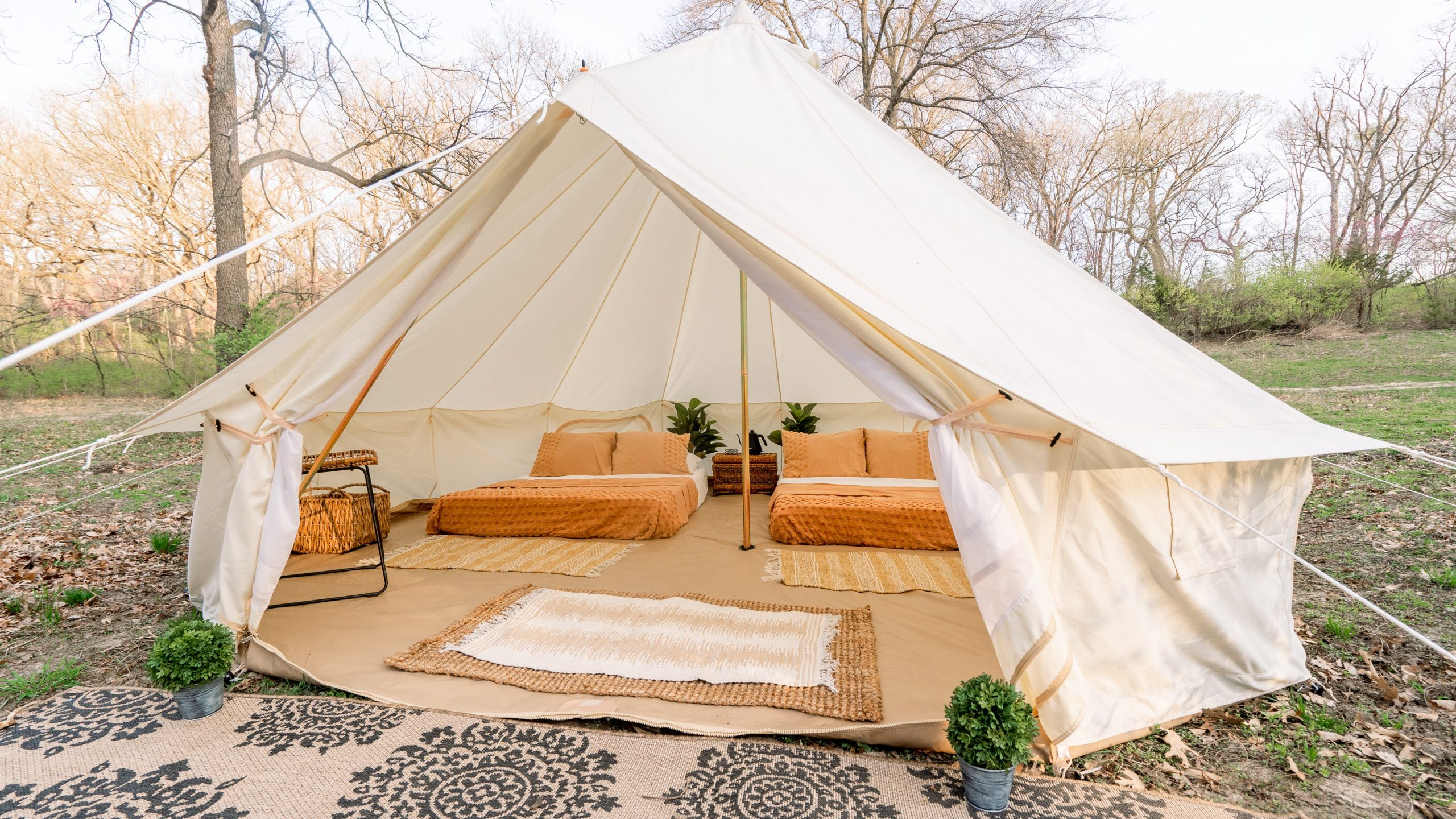 Suite Tea To Open New Glamping Village at Camp Lake of The Woods in Swope Park