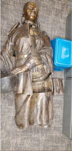 Stolen Female Osage Sculpture Recovered